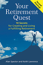 """Your Retirement Quest"" Book Cover"